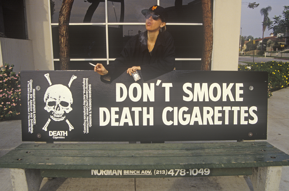 Don't smoke death cigarettes